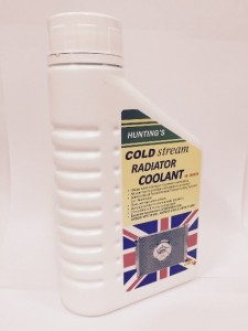 Hunting cold stream radiator coolant